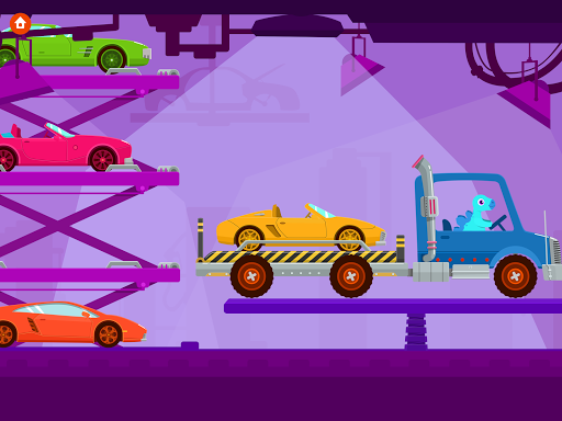 Dinosaur Truck - Car Games for kids android2mod screenshots 6