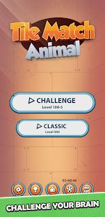 Tile Match Animal - Classic Triple Connect Puzzle 1.26 screenshots 1