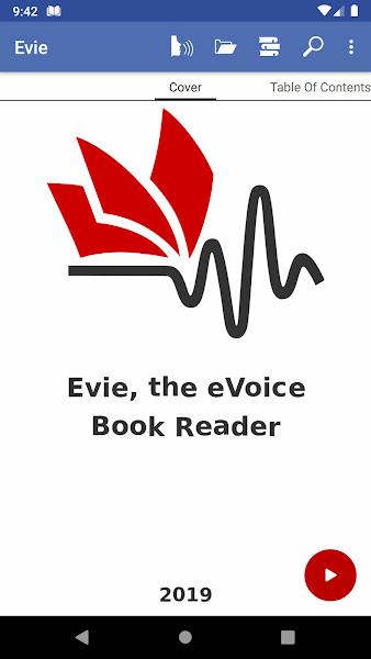 Evie - The eVoice book reader