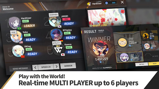 TAPSONIC World Champion - rhythm game screenshots 1