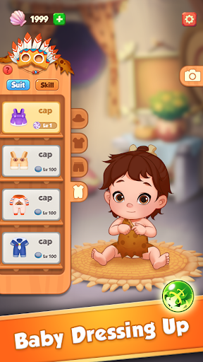 Baby Pop - Primitive Bubble Shooter & Dress up Varies with device screenshots 3
