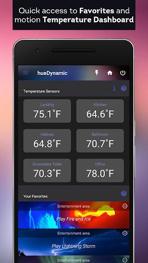hueDynamic for Philips Hue  screenshots 1