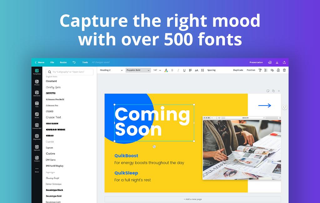 Canva: Graphic Design, Video Collage, Logo Maker  poster 11