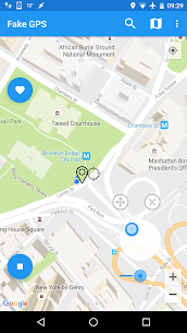 Fake GPS Joystick & Routes Go v1.6.1 [Patched] 4