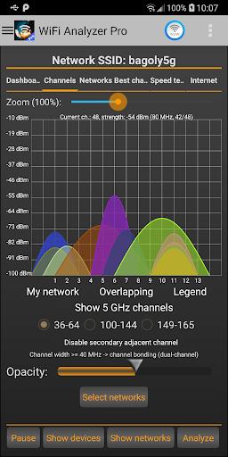 WiFi Analyzer Pro screen 1