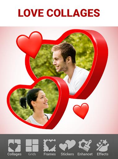Love Collage Maker - Photo Editor & Heart Frames 2.4.8.22 screenshots 1