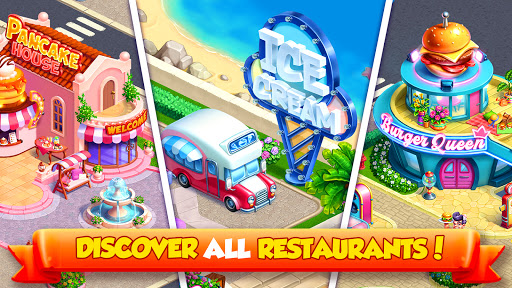 Tasty World: Cooking Voyage - Chef Diary Games 1.6.0 screenshots 5