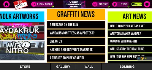 VANDALEAK - Sprays and Graffiti on the go  screenshots 2