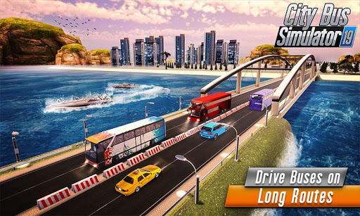 Euro Bus Driver Simulator 3D: City Coach Bus Games 2.1 Screenshots 4