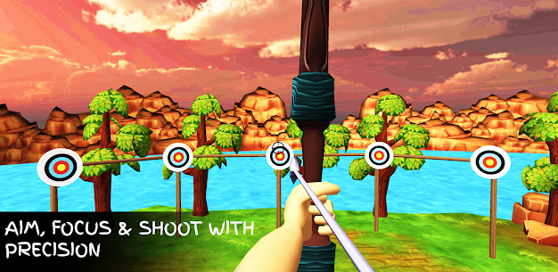 Archery hero –  Master of Arrows Archery 3D Game For Android 2