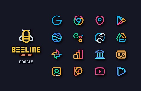BeeLine Icon Pack v1.9 (Patched) 2