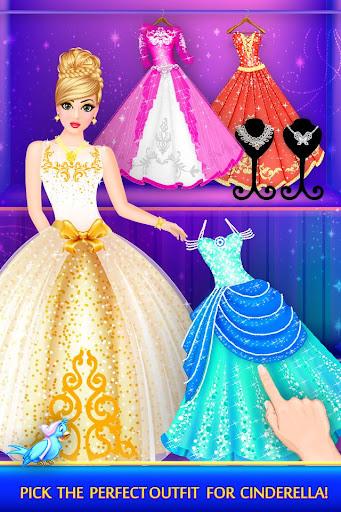 Cinderella Beauty Makeover : Princess Salon 1.8 screenshots 3