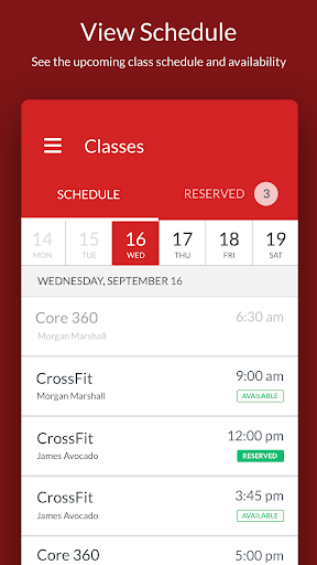 Powered by Movement CrossFit ( PXM ) - Members App 2.17.1 screenshots 1