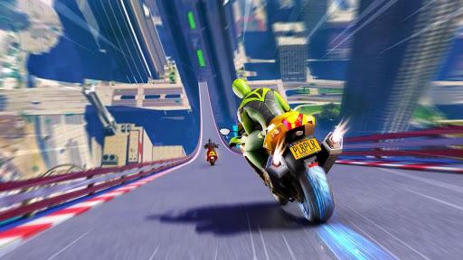 Mega Ramp Motorbike Impossible Stunts screenshots 9