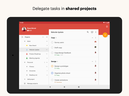 Todoist: To-Do List, Tasks & Reminders android2mod screenshots 10