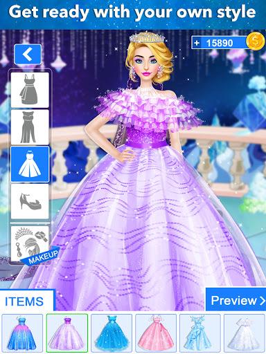Ice Princess Wedding Dress Up Stylist 0.11 screenshots 7