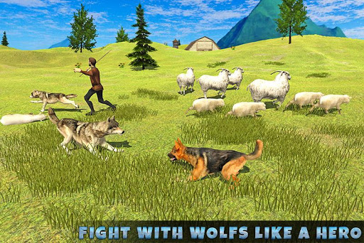 Real Dog Shephard World SIM 1.1 screenshots 4