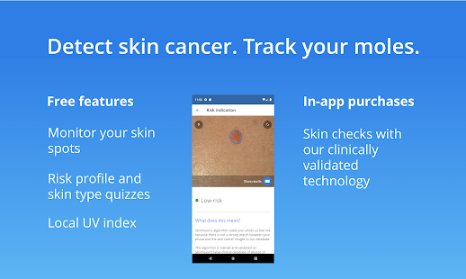 Skinvision Detect Skin Cancer Track Your Moles Apps On Google Play