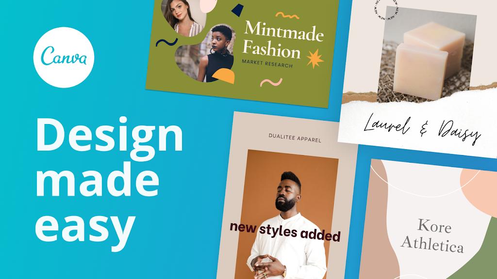 Canva: Graphic Design, Video Collage, Logo Maker poster 8