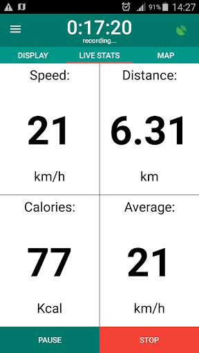 Bike Computer - GPS Cycling Tracker 3.3 Paidproapk.com 2