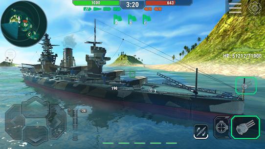 Warships Universe: Naval Battle Mod Apk 0.8.2 (Mod Banknotes/Diamonds) 2