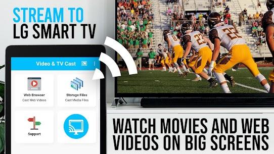 TV Cast LG Smart TV – HD Video Streaming MOD APK 4