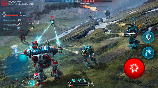 Robot Warfare: Mech Battle 3D PvP FPS Hack Game Android & iOS 4