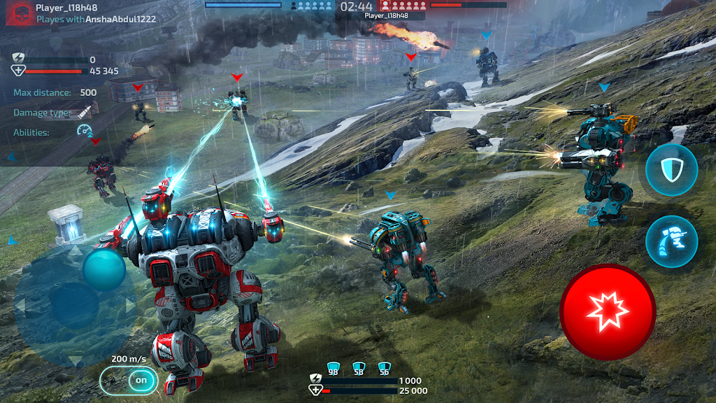 Robot Warfare: Mech Battle 3D PvP FPS  poster 3