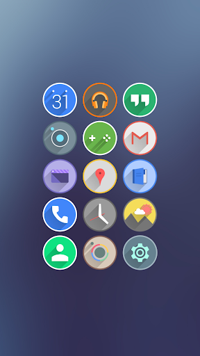 Velur - Icon Pack  screenshots 1