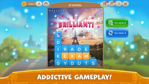Word Tower - Free Offline Word Game screenshots 4