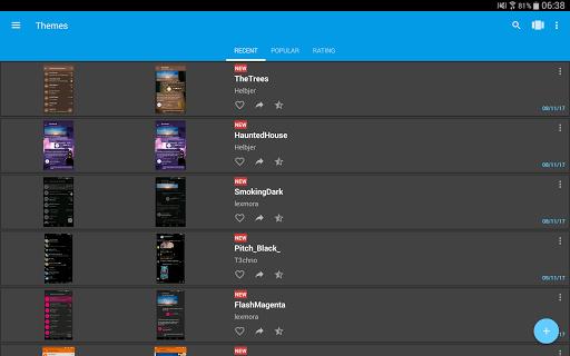 Themes for Telegram 1.2.7 Screenshots 5