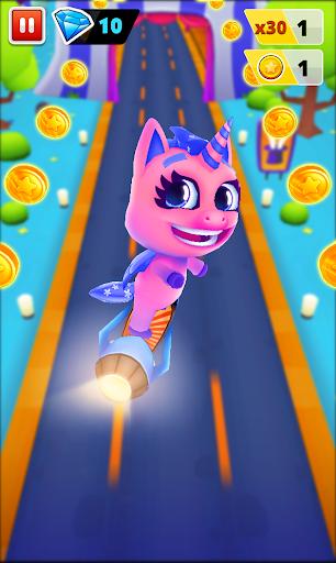 Unicorn Runner 2. Magical Running Adventure screenshots 12