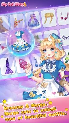 My cat diary - dress up anime princess gamesのおすすめ画像2