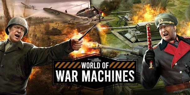 World of War Machines – WW2 Strategy Game Full Apk İndir 1