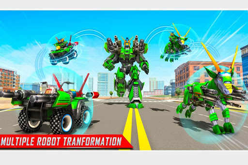 Goat Robot Transforming Games: ATV Bike Robot Game screenshots 3