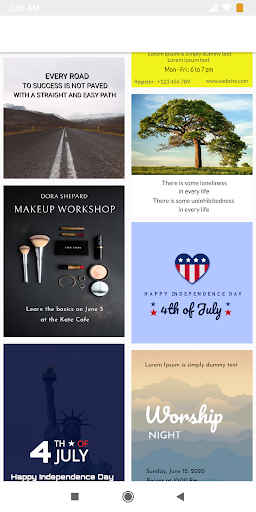 Poster Maker Flyer Maker 2020 free graphic Design 3.11 Screenshots 17