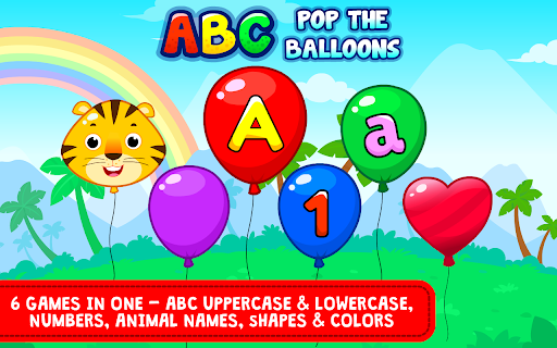 Balloon Pop : Preschool Toddlers Games for kids  screenshots 1