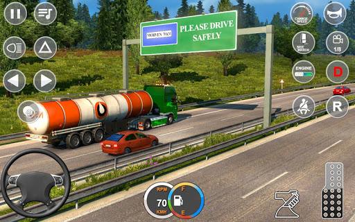 Indian Mountain Heavy Cargo Truck : Euro Truck Sim android2mod screenshots 15