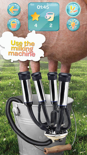 Milking Cow Simulator  screenshots 8