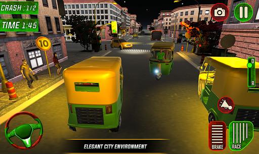 Tuk Tuk Auto Rickshaw Driver 2019:City Parking 1.5 screenshots 14