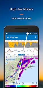 Flowx Mod Apk: Weather Map Forecast (Pro Gold/Paid Unlocked) 3