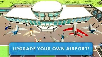 Airport Craft: Fly Simulator Boys Craft Building