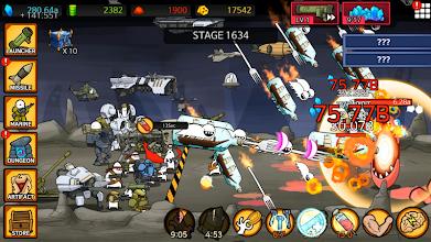 Missile Dude RPG: Offline tap tap missile screenshot thumbnail
