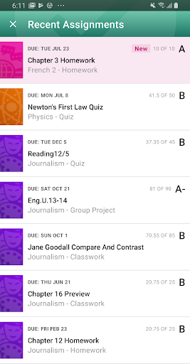PowerSchool Mobile 2.4.2 Screenshots 5
