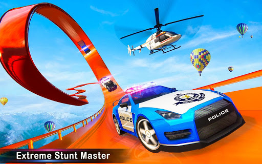 Police Car Stunts Racing: Ramp Car New Stunts Game 2.1.0 Screenshots 9