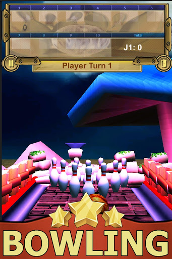 bowling fantasy - easy and free 3d sports game screenshot 2