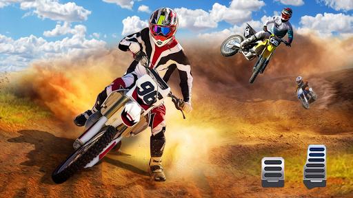 Motocross Dirt Bike Stunt Racing Offroad Bike Game apktram screenshots 7