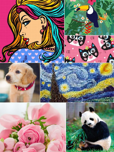Color by Letter - Sewing game  Cross stitch 1.1.4 Screenshots 10
