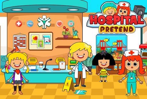 My Pretend Hospital - Kids Hospital Town Life  screenshots 2