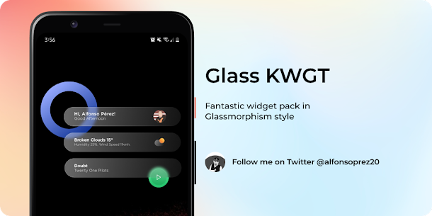 Glass for KWGT v1.0 [Paid] 5